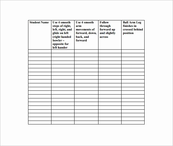 Physical Education Lesson Plan Template – 8 Free Word