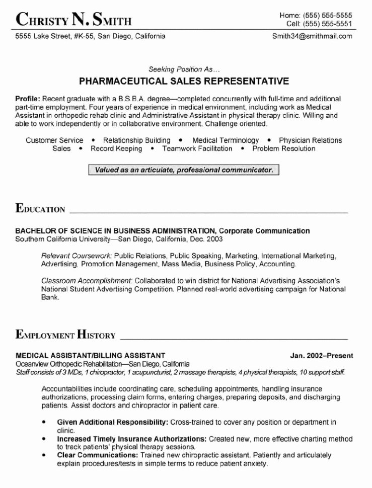 Physician assistant Student Resume Best Resume Collection