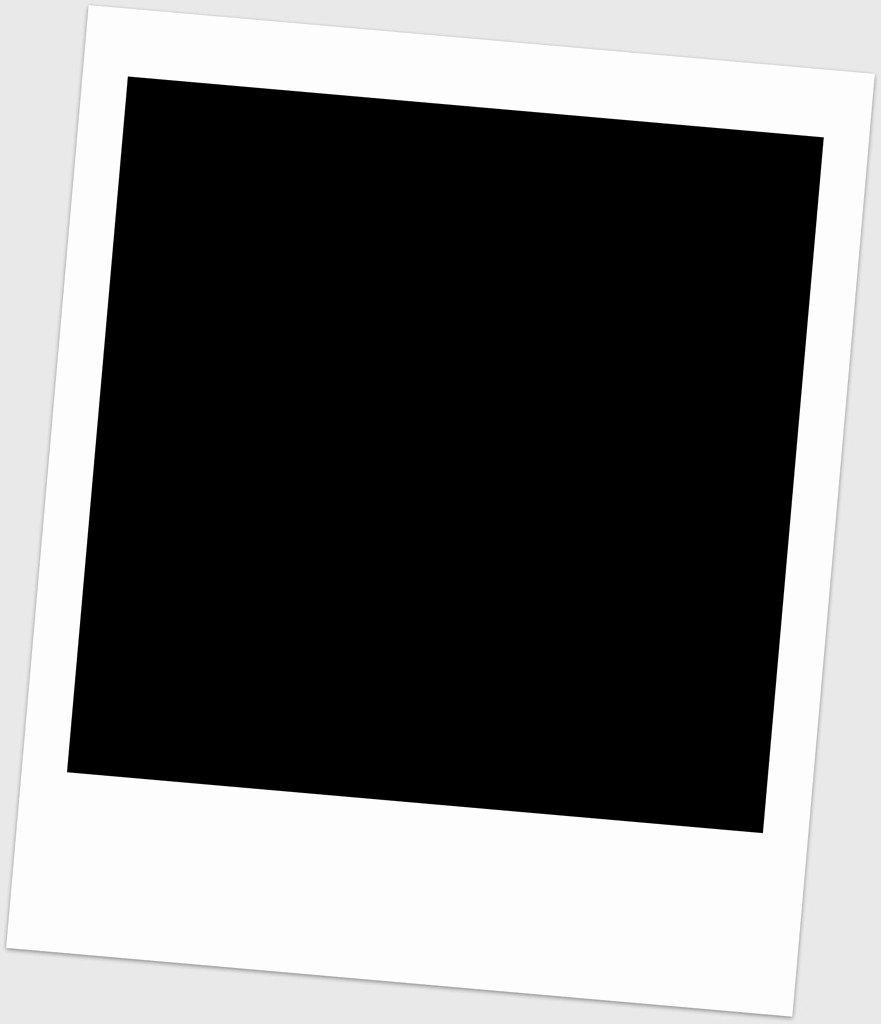 Picmonkey White Polaroid Frame Template