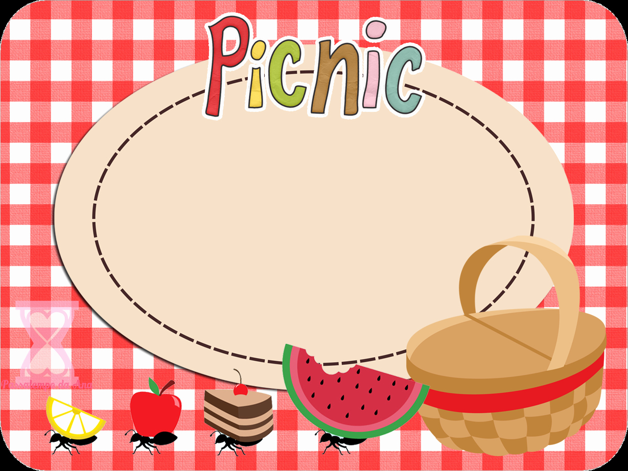 Picnic Free Printable Candy Bar Labels