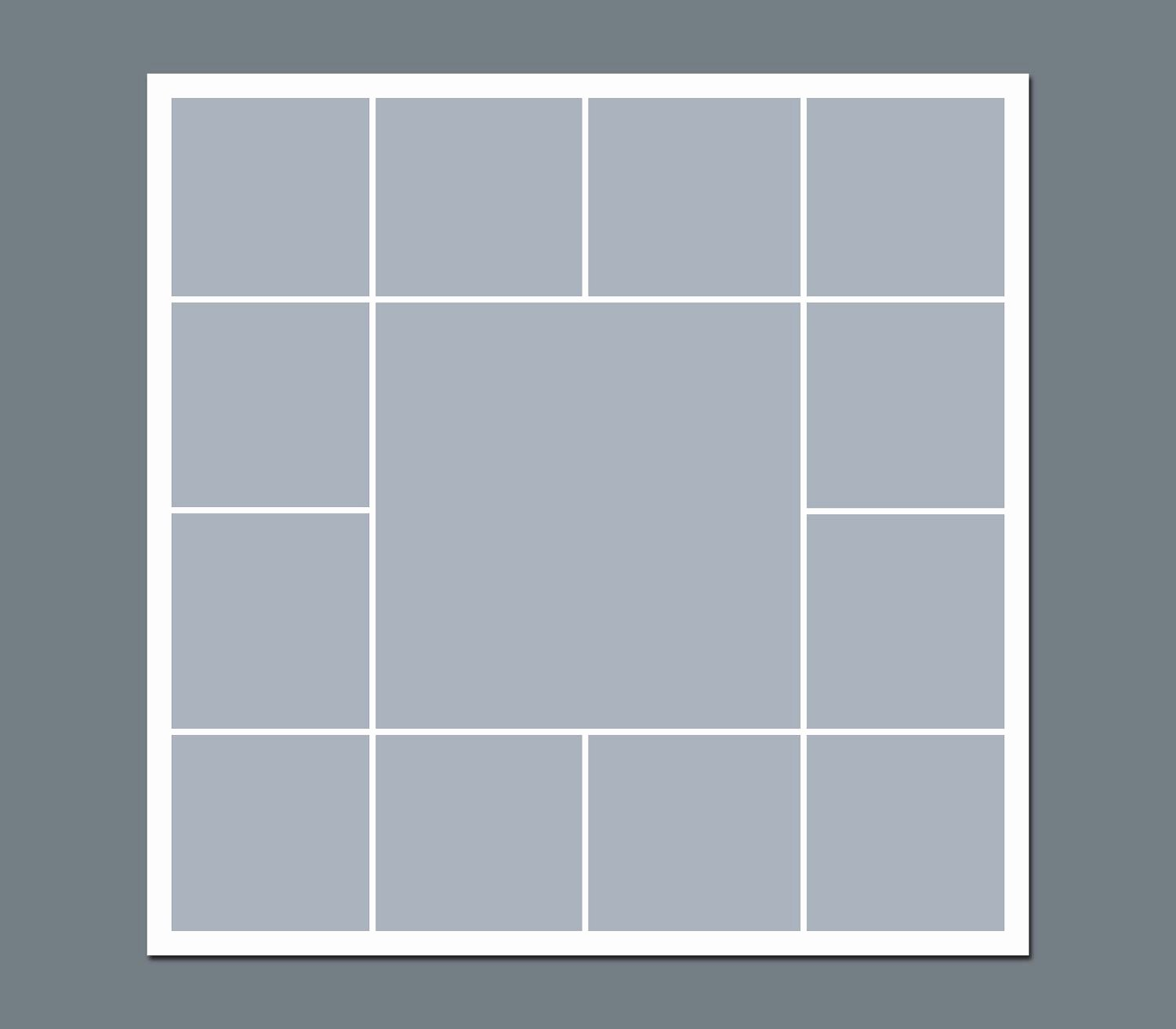Picture Collage Template for Shop