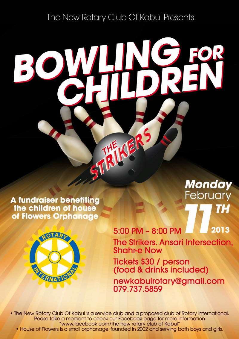 Pin Bowling Fundraiser On Pinterest