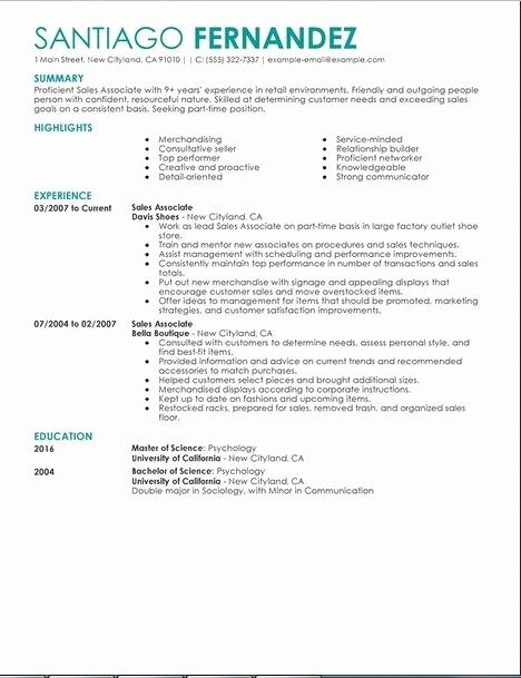 Pin by Michelle Highnote On Resume Sample