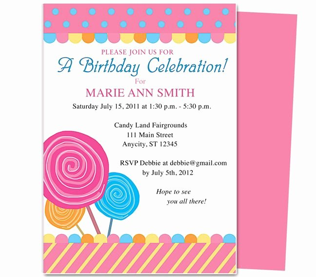 Pin by Paulene Carla On Party Invitations