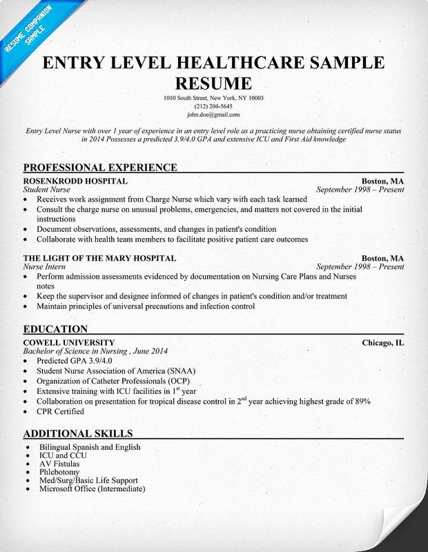 Pin by Resume Panion On Resume Samples Across All