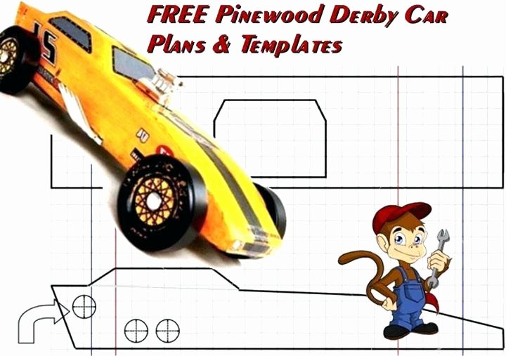 Pinewood Derby Design Templates Free Plans Pinewood Derby