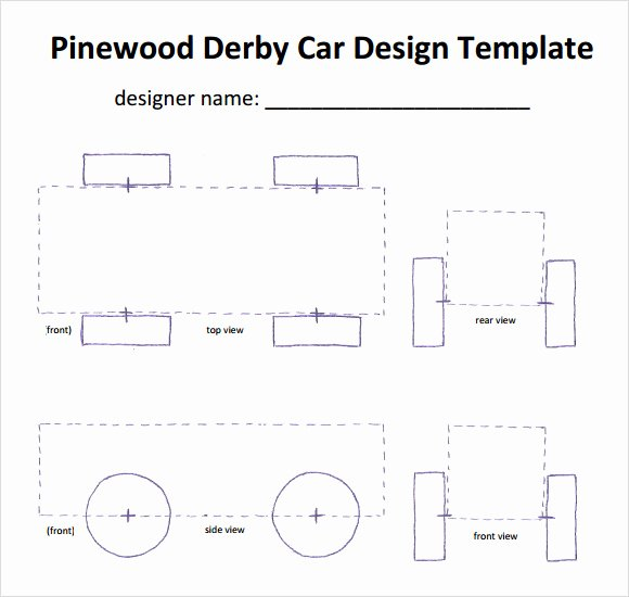 Pinewood Derby Designs Patterns Free Patterns