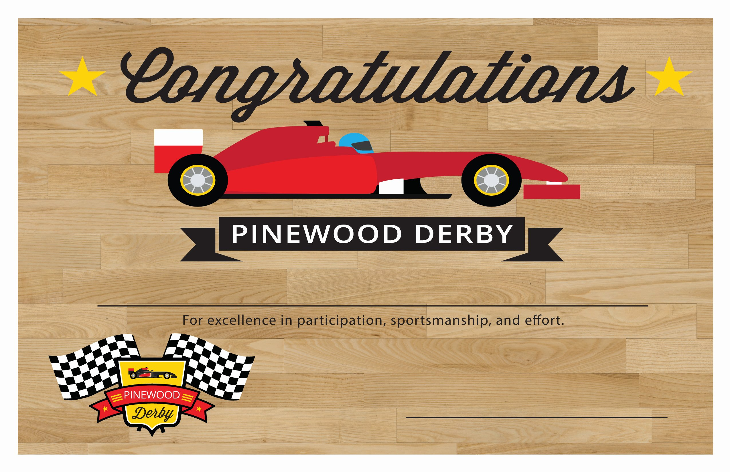 Pinewood Derby Printables – the Gospel Home
