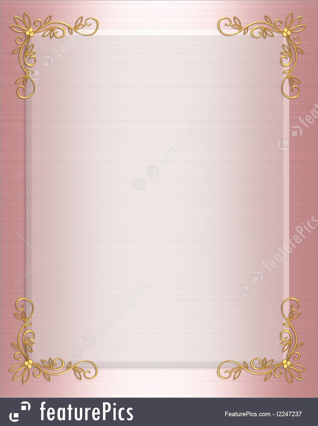 Pink and Gold Invitations Templates Il Fullxfull