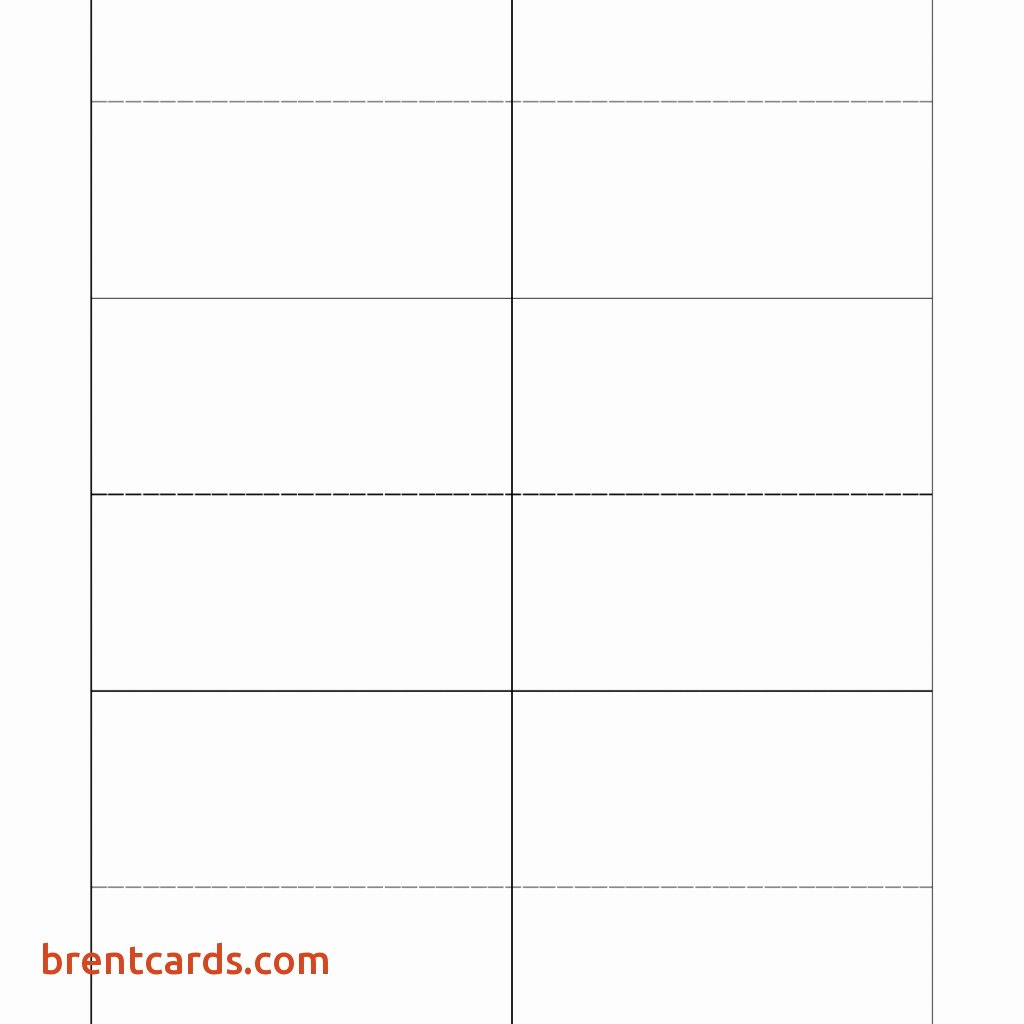 Place Card Template Free Download Beautiful Template