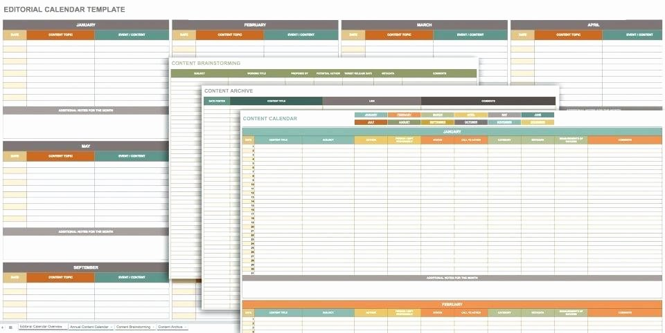 Plan Your Editorial Calendar with This Google Spreadsheet