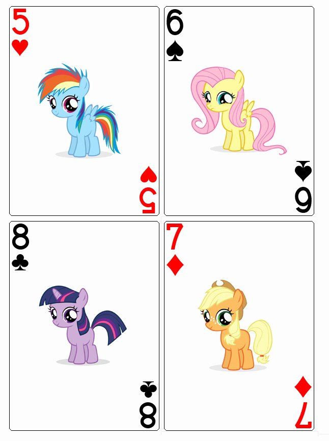 Playing Card Template by Moonprincessluna On Deviantart