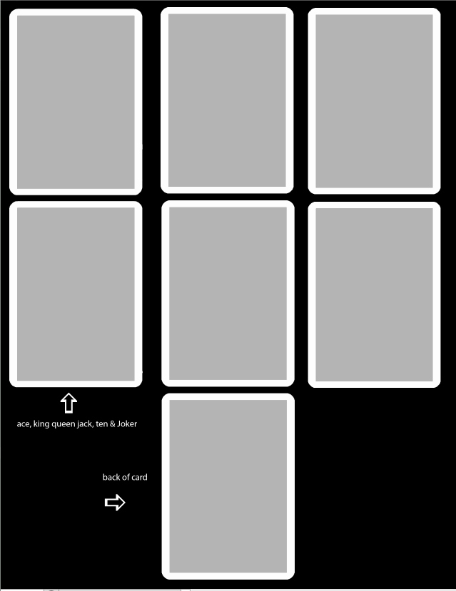 Playing Card Template Free by thevodkaboy On Deviantart