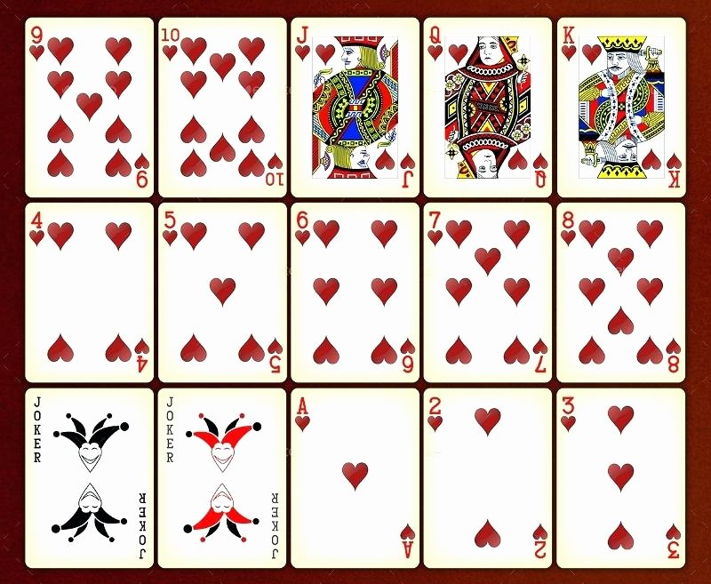 Playing Card Template Sample Box Pdf – Spitznasfo