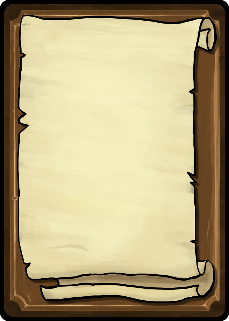Playing Cards Template Scroll Front by toomanypenguins