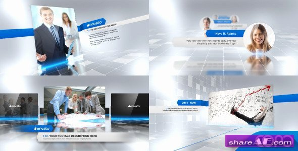 Plete Corporate Presentation Video after Effects