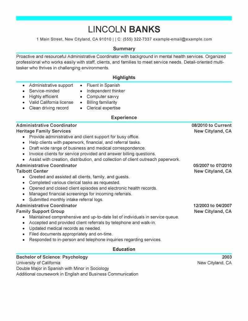 Plete Resume Example Example Plete Resume Examples