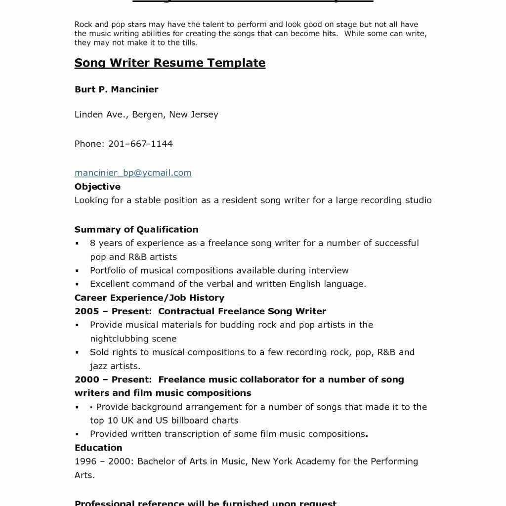 pleted resume examples