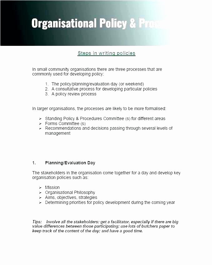 Policy Brief Template Microsoft Word Elegant Project Brief