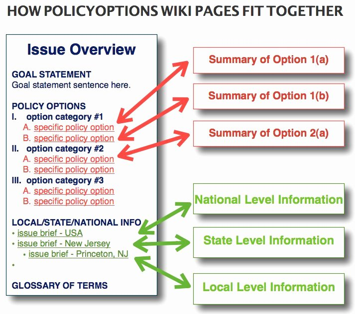 Policyoptions Wiki Policyoptions issue Brief Template