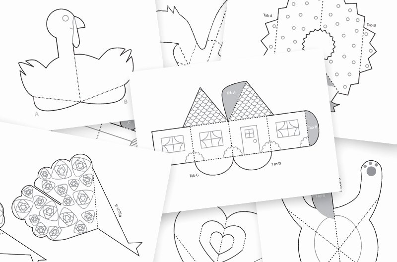 Pop Up Book Templates Image Collections Template Design