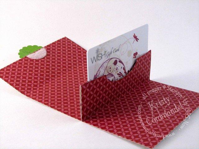 Pop Up Gift Card Holder Kristycoromandel