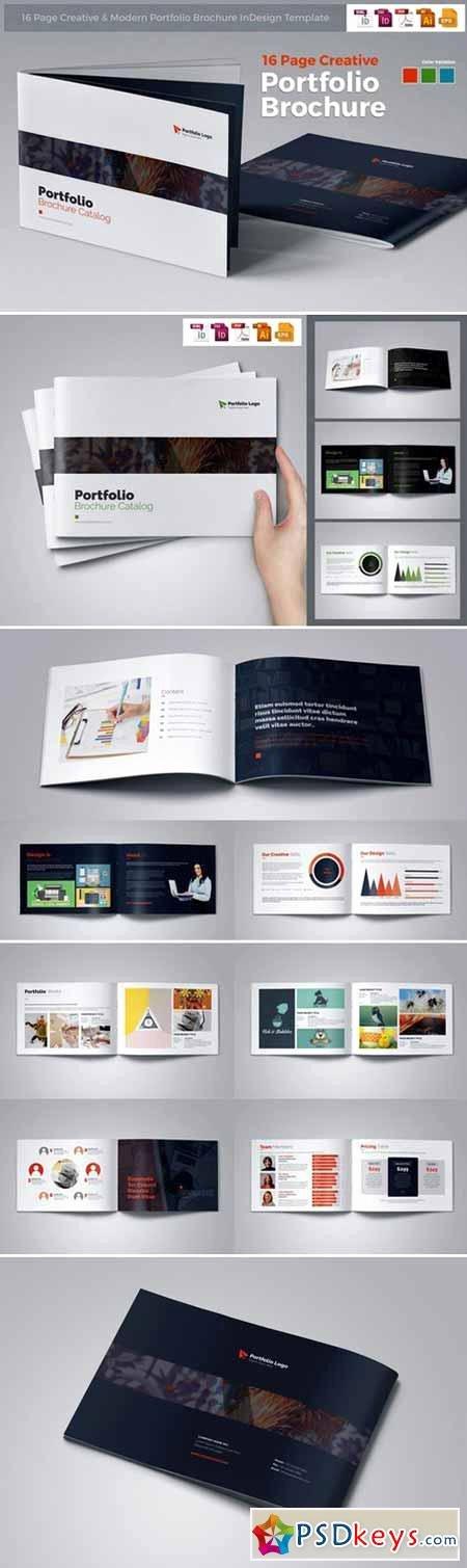 Portfolio Brochure Indesign Free Download