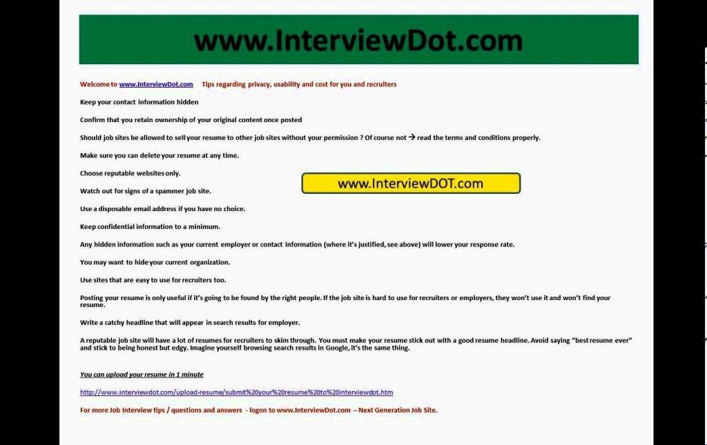 Post Resume Craigslist Best Resume Collection