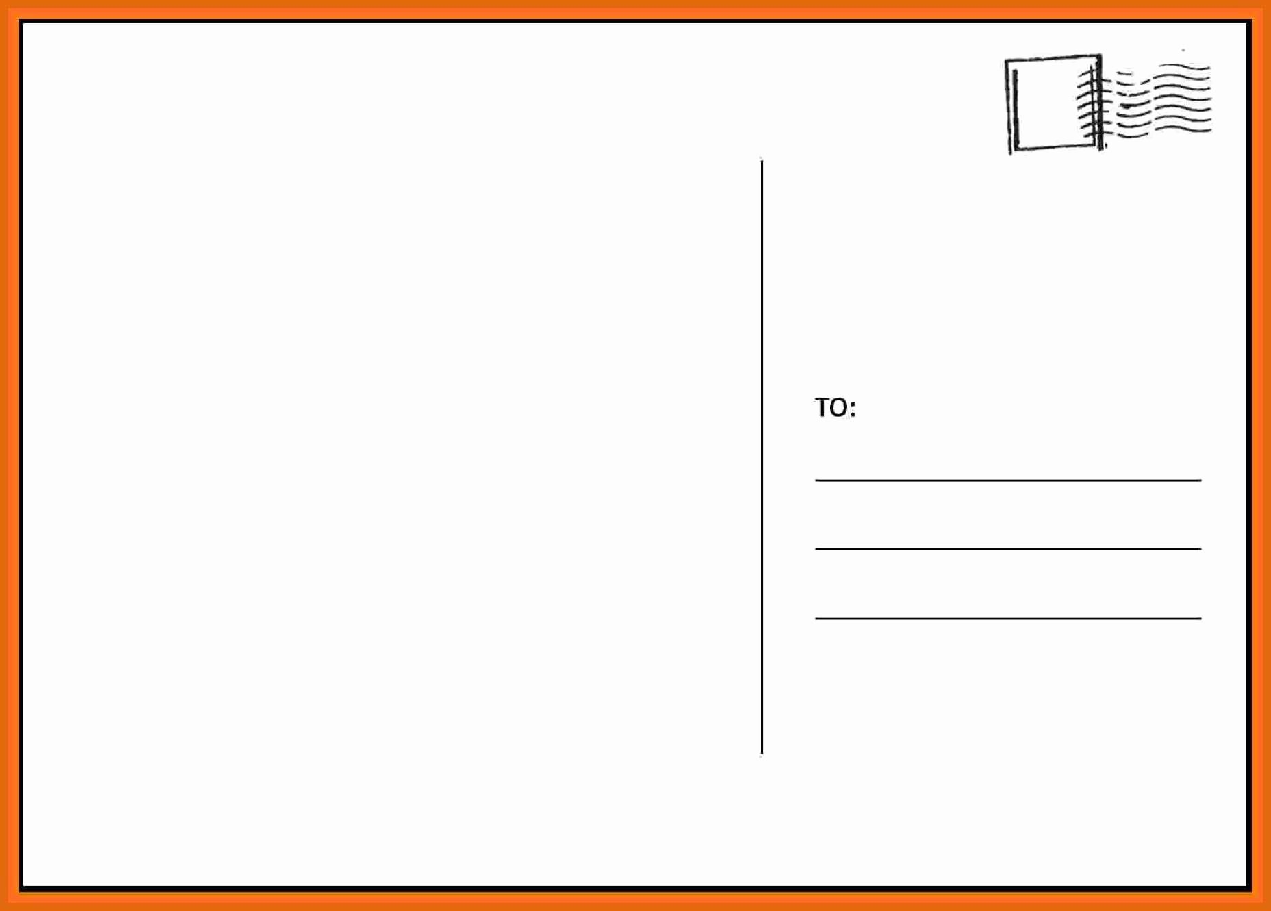 Postcard Template Templates Station