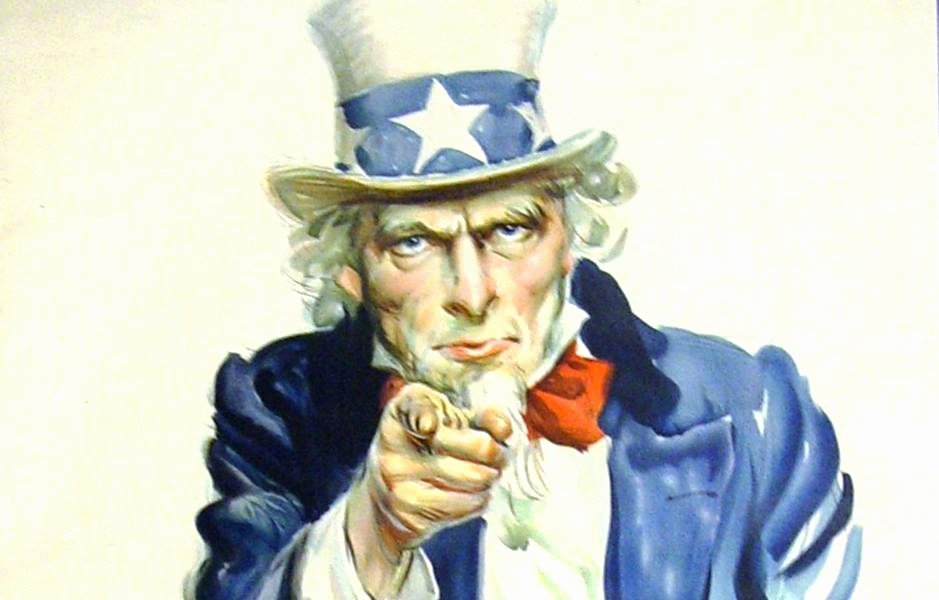 Poster I Want You Free Pages Uncle Sam We Template Hat