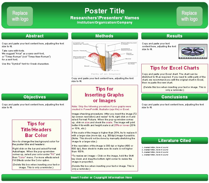 Poster Presentation Template Ppt Cpanjfo