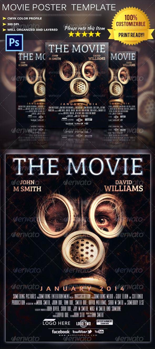 Poster Template Shop Free Movie Business Posters
