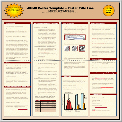 Posters4research Free Powerpoint Scientific Poster Templates