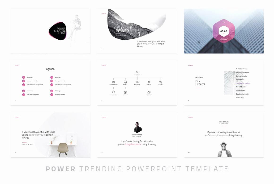 Power Modern Powerpoint Template Powerpoint Templates