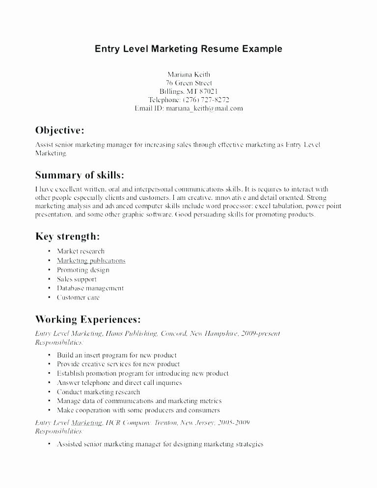 Power Statements for Resumes – Breathelight