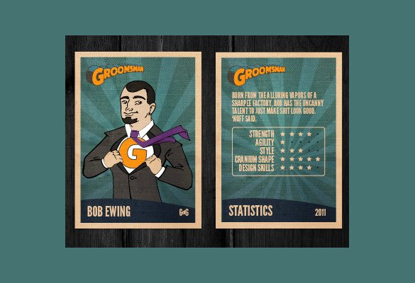 Powerpoint Baseball Card Template Custom Card Template