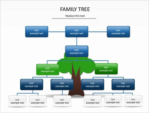 Powerpoint Family Tree Template Invitation Template