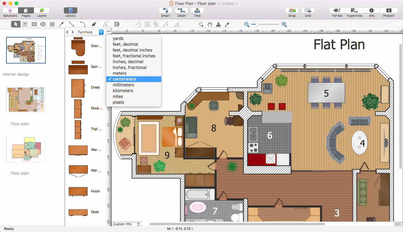 Powerpoint Presentation Of A Floor Plan