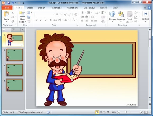 Powerpoint Presentation Templates for Teachers