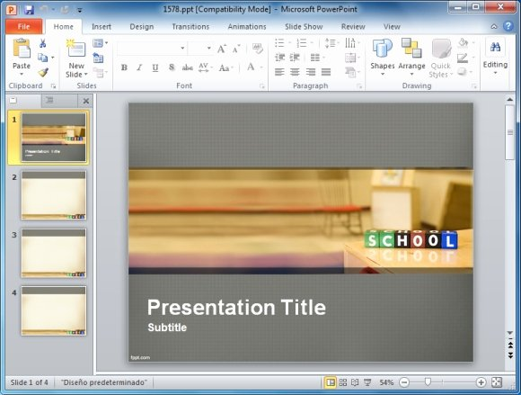 Powerpoint Presentation Templates for Teachers