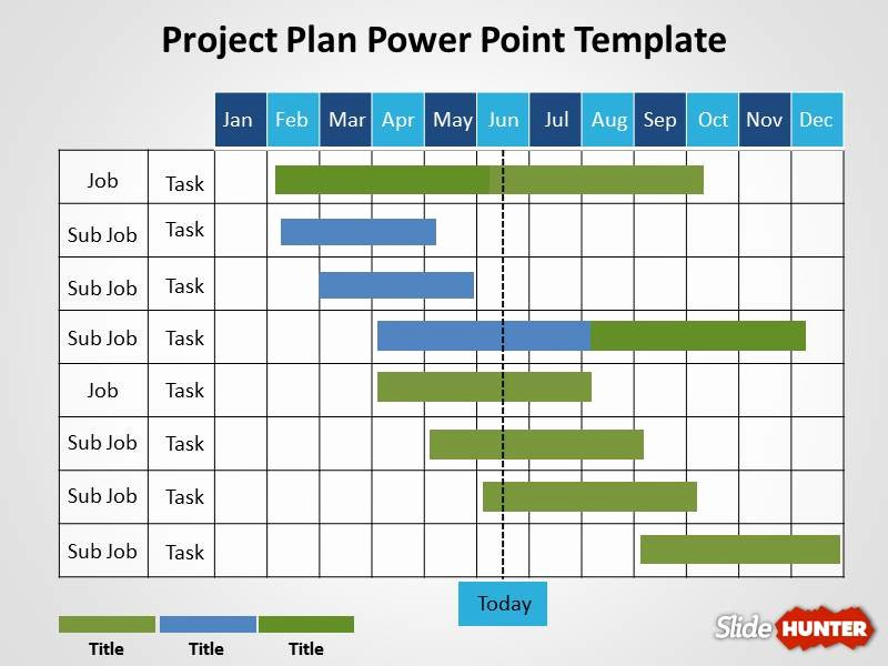 Powerpoint Project Schedule Template Office Timeline Free