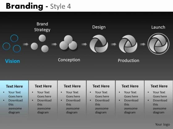 Powerpoint Template Marketing Strategy Funkymefo