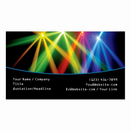 Premium Dj Business Card Templates
