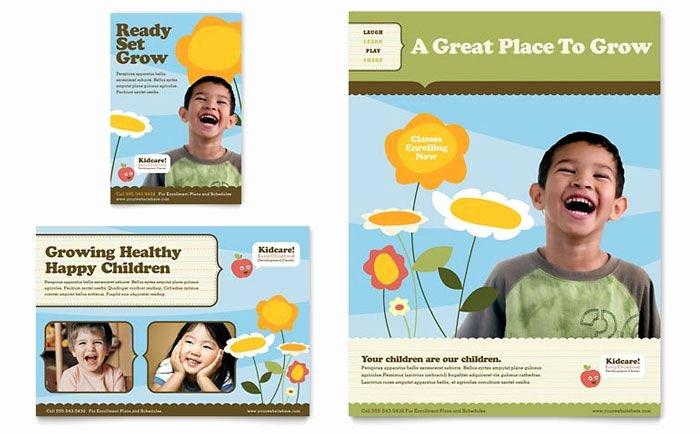 Preschool Advertising Ideas