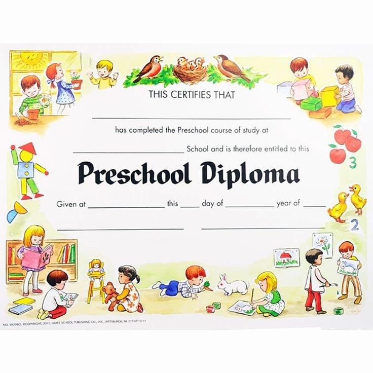 Preschool Diploma Junio Graduacion Pinterest