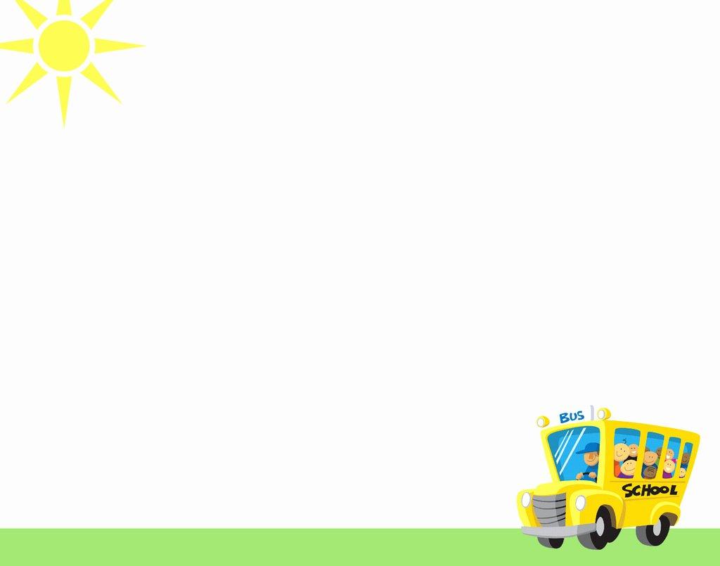 Preschool Elementary School Backgrounds for Powerpoint