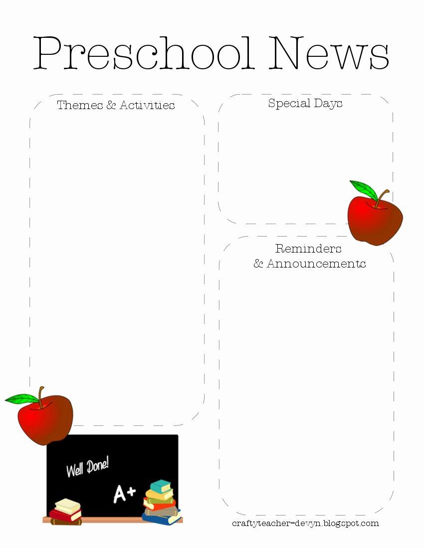 Preschool Newsletter Quotes Quotesgram