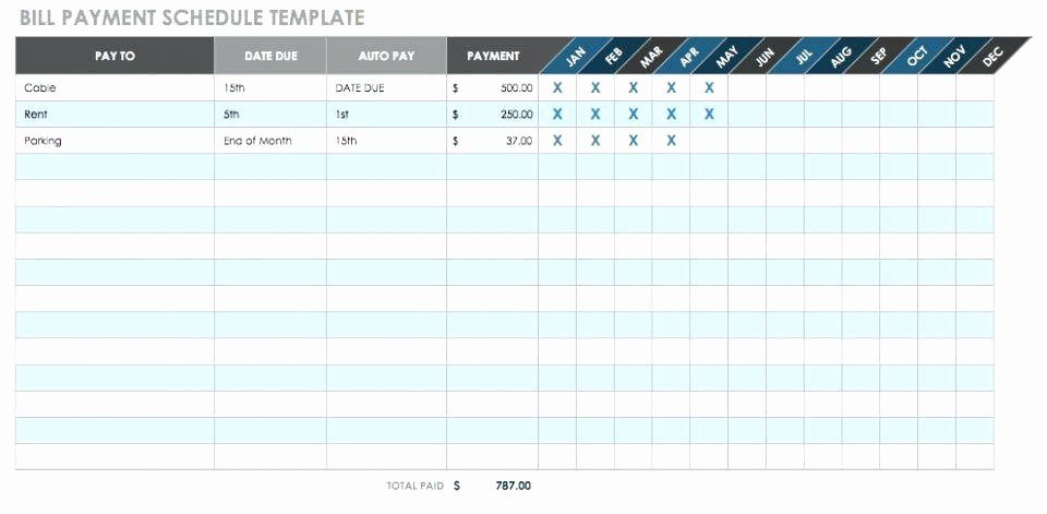 Preventive Maintenance Template Excel Download New