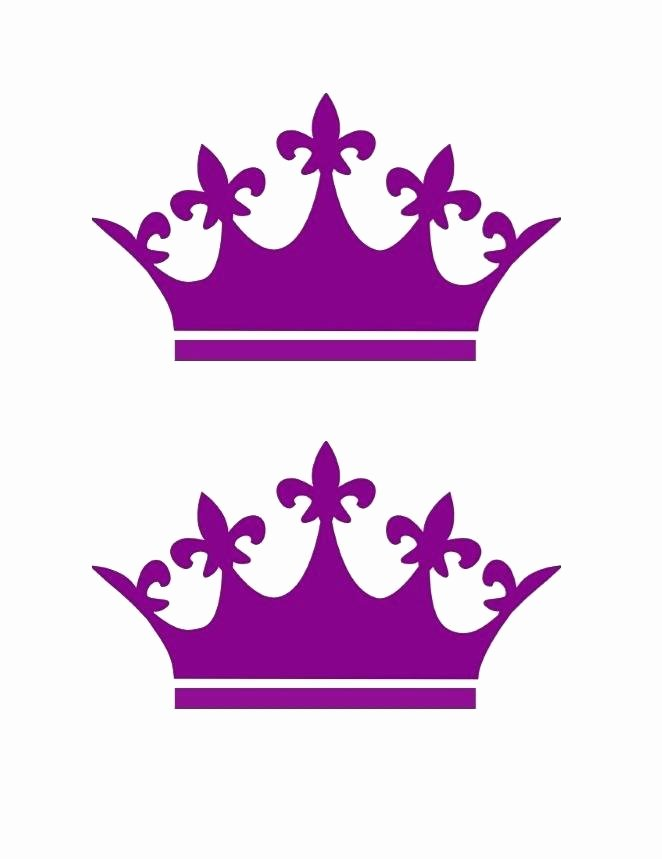 Prince Crown Template Logo Flat Icon King Queen