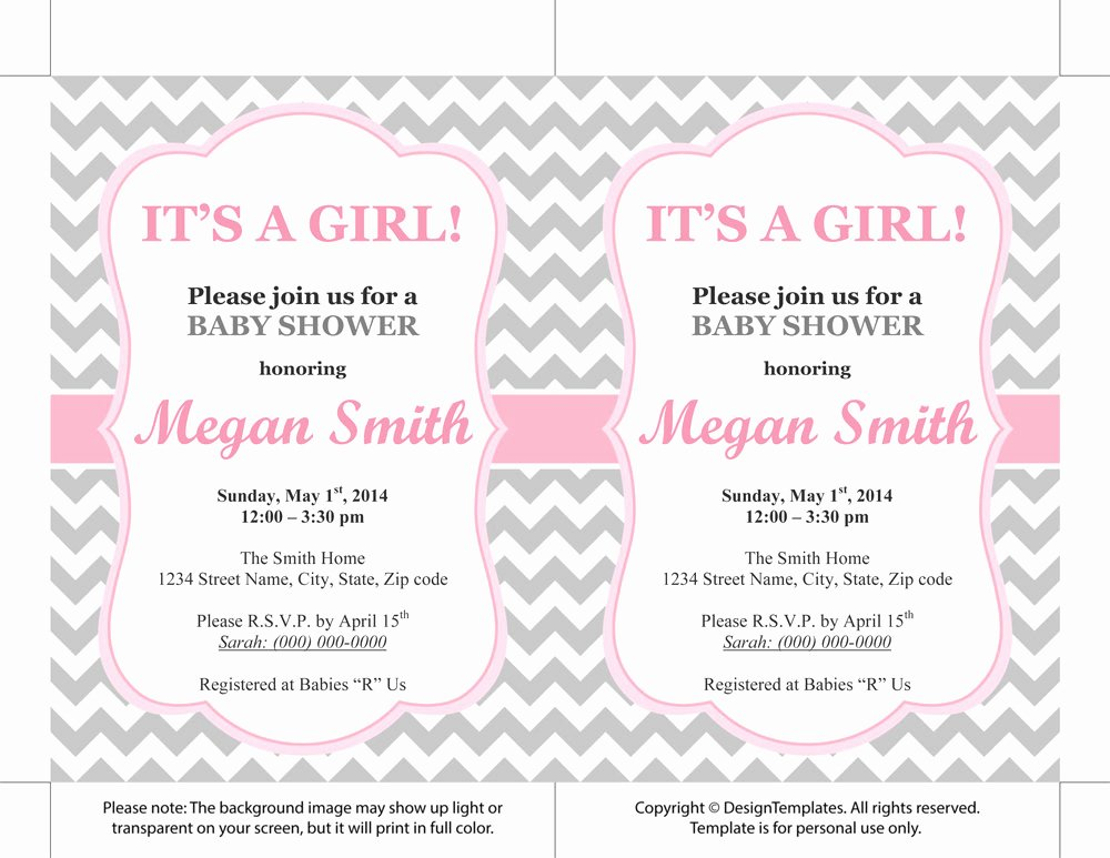 Princess Baby Shower Invitations Templates Free Party Xyz